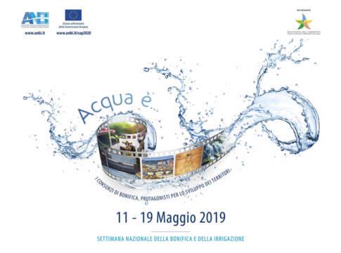settimana nazionale della bonifica e dell'irrigazione 2019