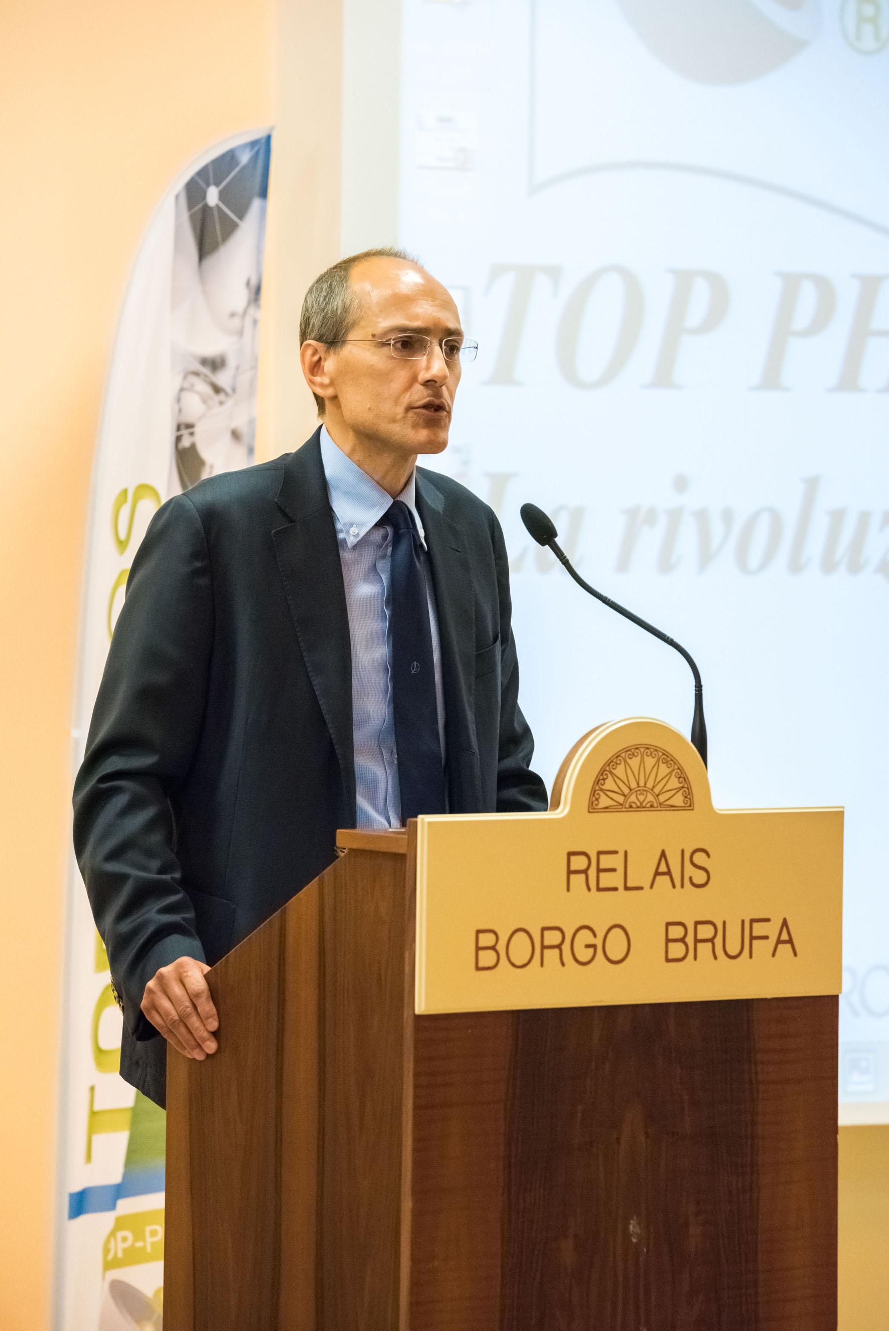 Pierluigi Sassi, amministratore delegato di Timac Agro Italia