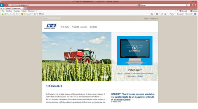 k+s italia nuovo sito web