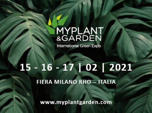 MyPlant e Garden 2021